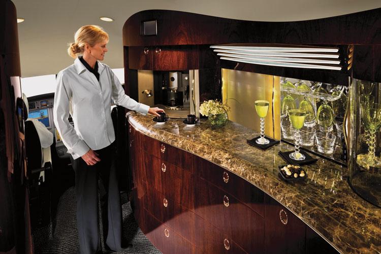 PRIVATE Jet columbus interior jet