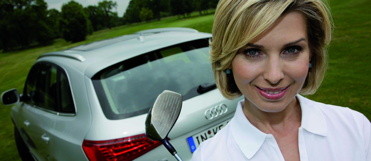 Audis Quattro Performance in a Golf Bag