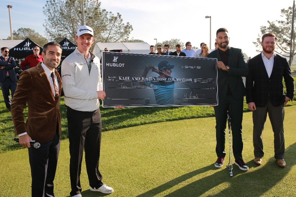 Justin Rose And Swiss Luxury Watch Brand