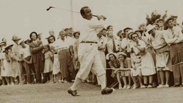 HEADER Edited 1 Sarazen 1941 Swing Olympic Golf Exhibit Image courtesy of the World Golf Hall of Fame and Getty Images 100x600 1