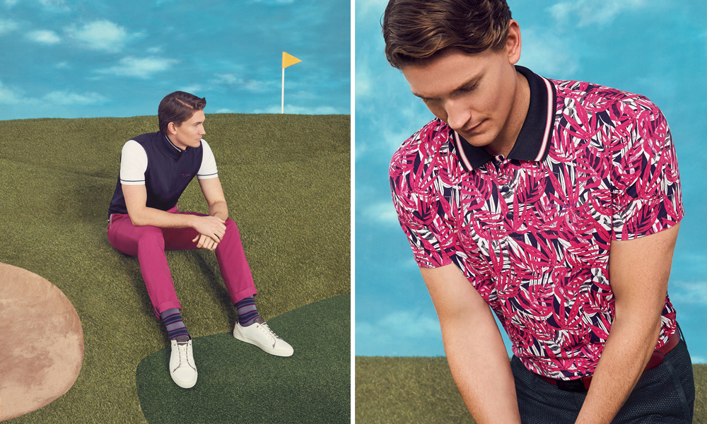 Ted Baker with Golf