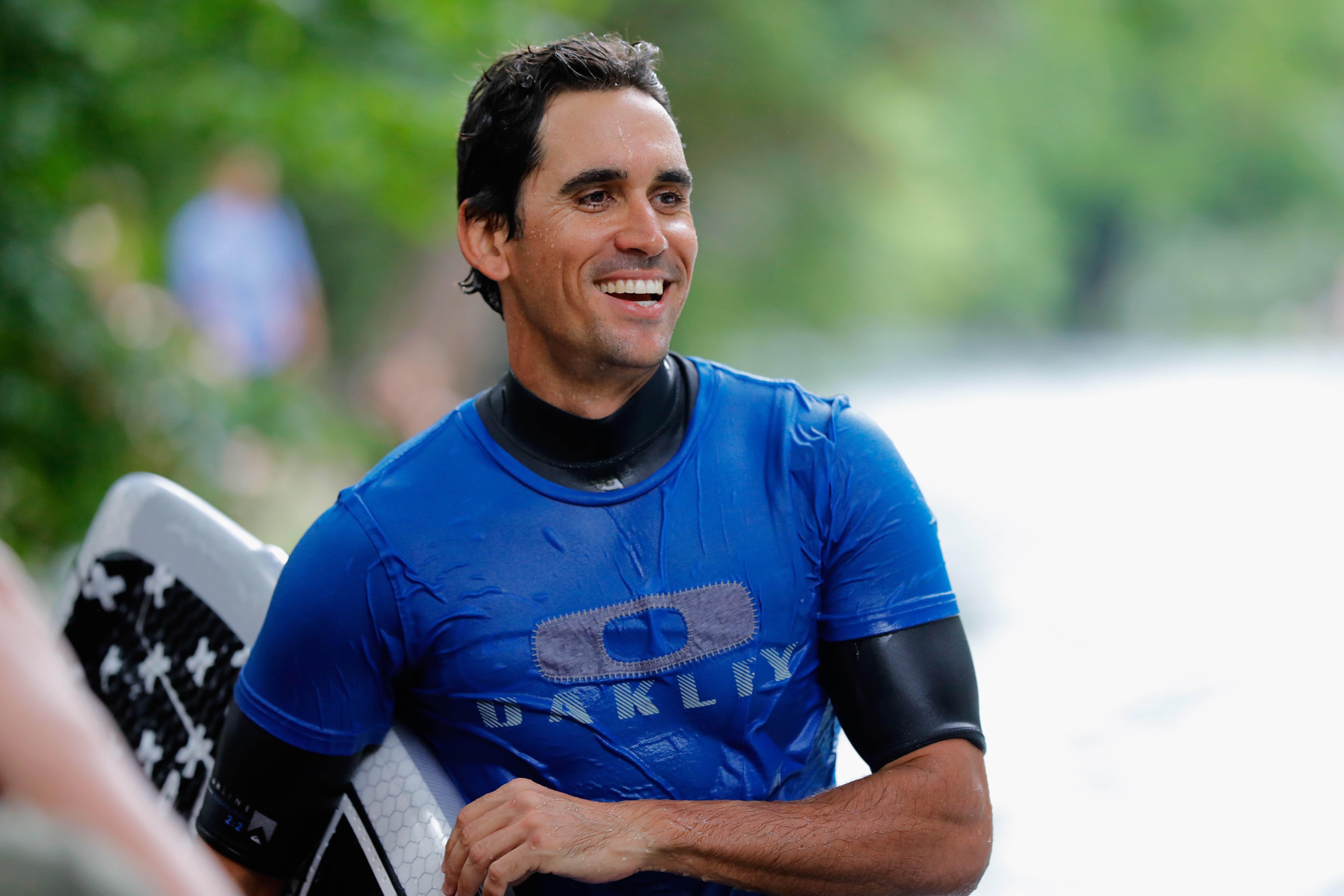 Rafa Cabrera Bello Swaps His Clubs For The Surfboard 19th Hole Magazine