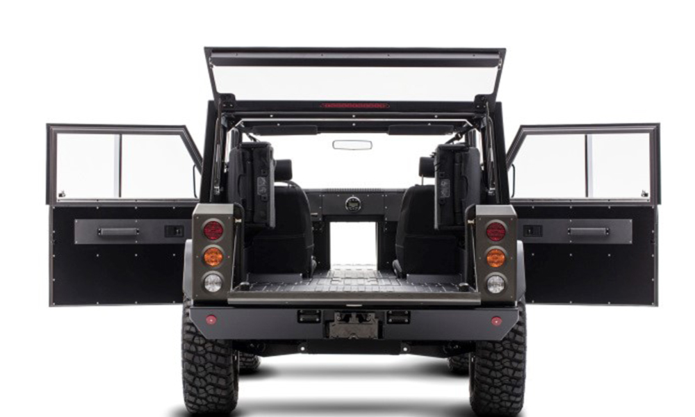 Bollinger Motors All-Electric B1 Sport Utility Truck