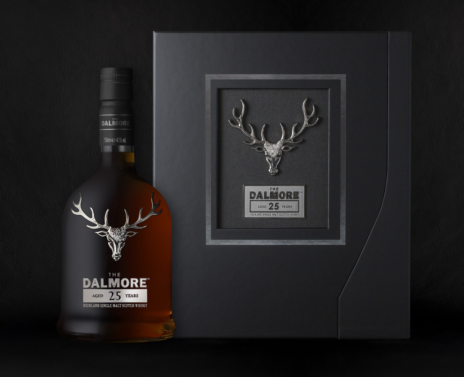 The Dalmore 25 Year Old Single Malt Scotch whisky