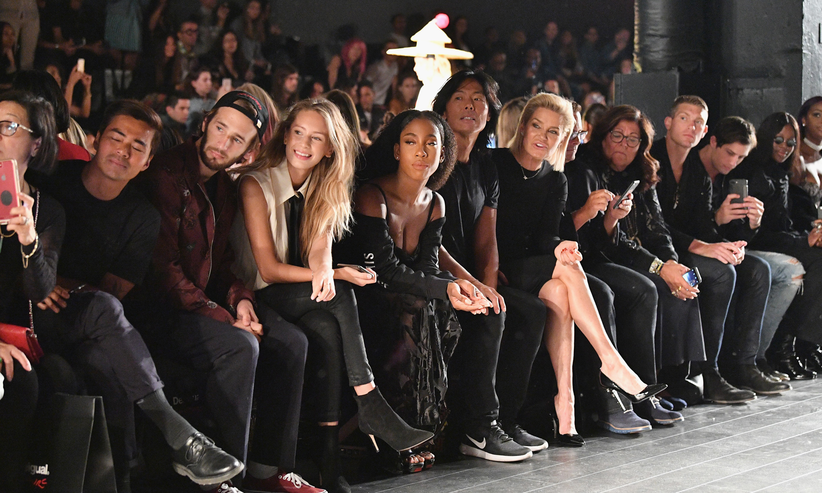 Front Row Ny Fashion Week 19th Hole Magazine