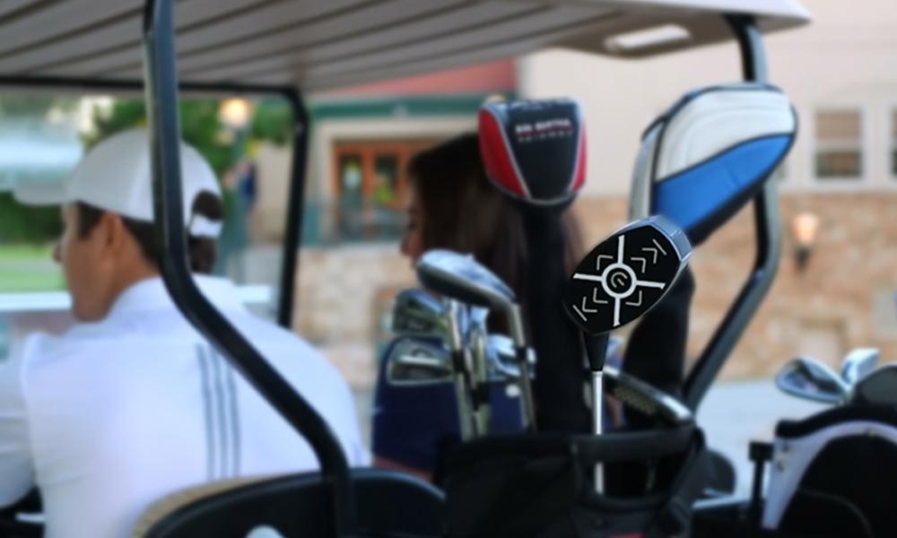 The new Sound Caddy golf club speaker