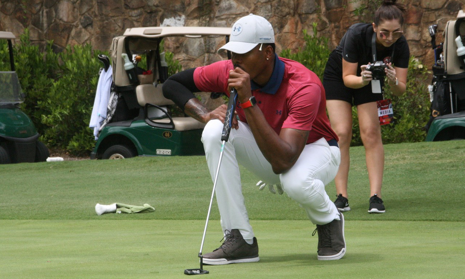 NBA Player Kent Bazemore Celebrity Golf Classic benefitting ARMS Foundation at Dunwoody Country Club