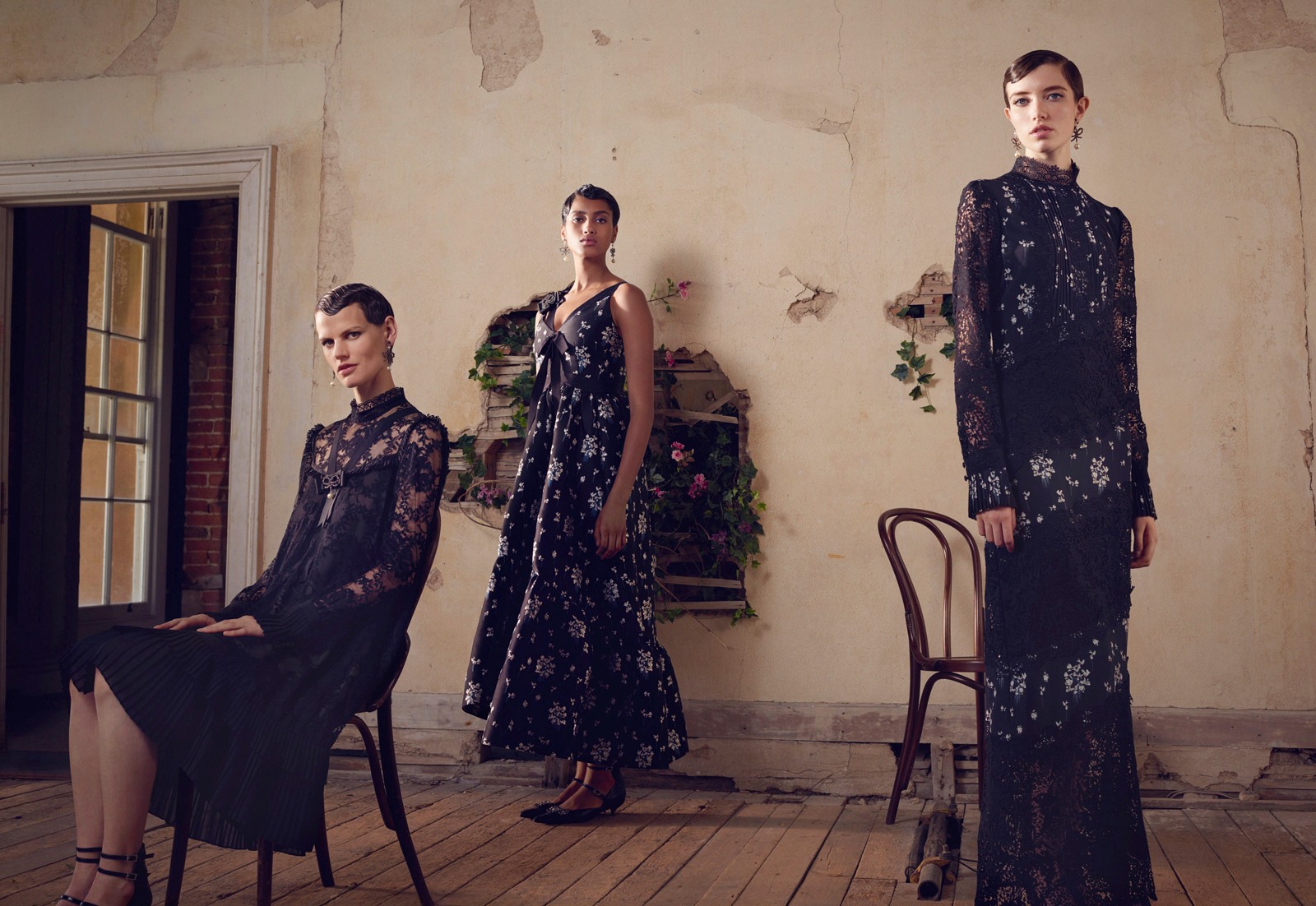 Look Book ERDEM x H&M by Photographer Michal Pudelka