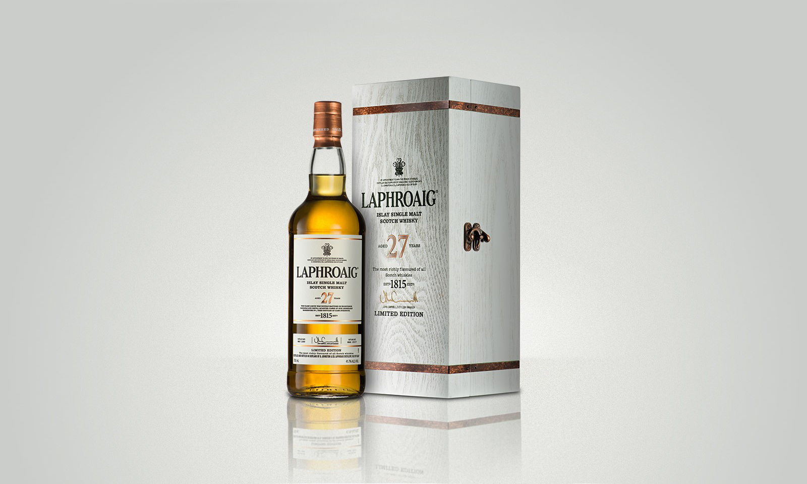 Aged to Perfection, Laphroaig 27 Year Old Scotch Whisky