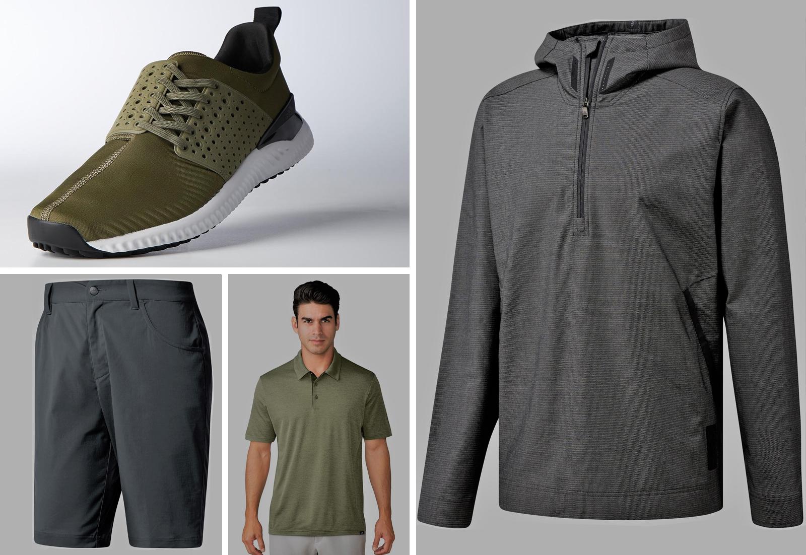 Dustin Johnson, sports adicross urban-golf collection