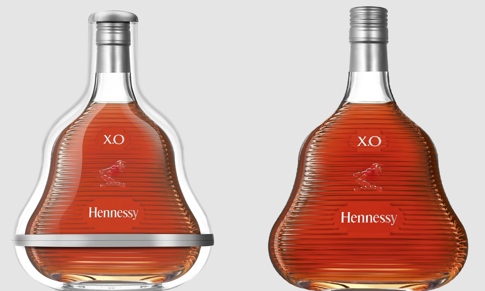The Hennessy X.O 2017 limited edition bottle by Marc Newson