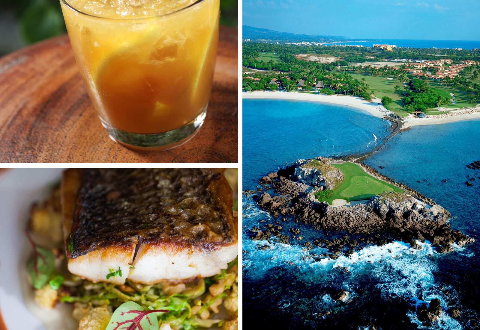 The Punta Mita Gourmet & Golf Classic | Tail of the Whale famous par 3
