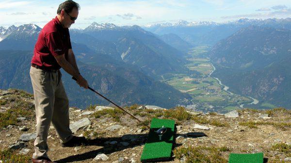 Whistler Big Sky heli-golf experience