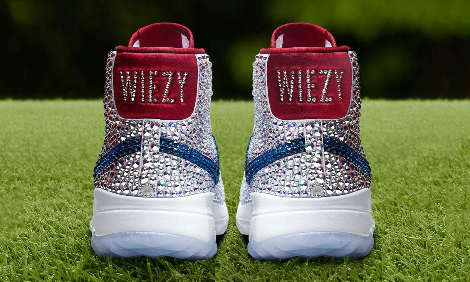 check out a6208 d52d2 The-Swarovski-x-Nike-Blazer-High-Michelle-Wie-PE-Golf-Shoe-Wiezy