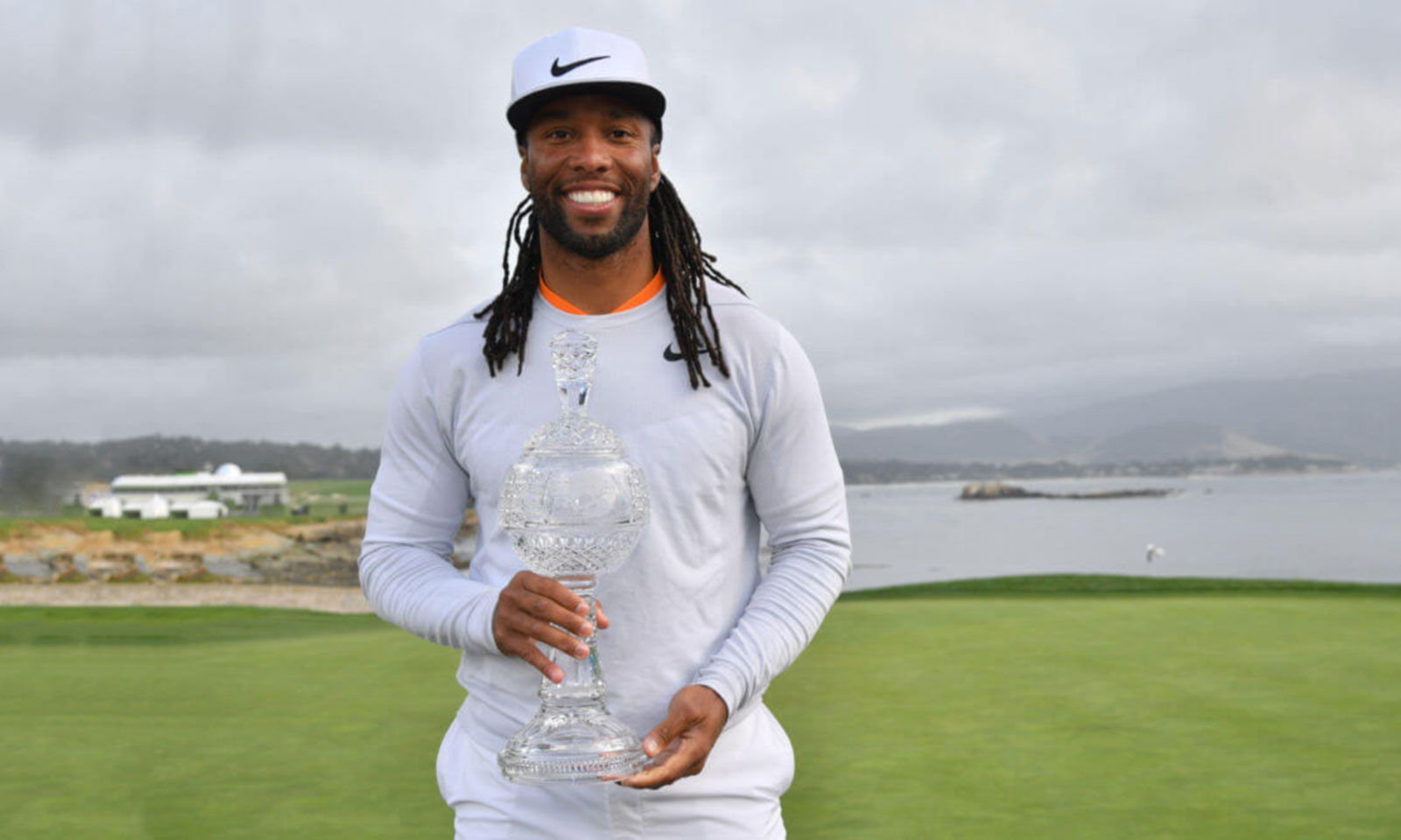 Larry Fitzgerald Wins Pebble Beach Celebrity Pro-Am