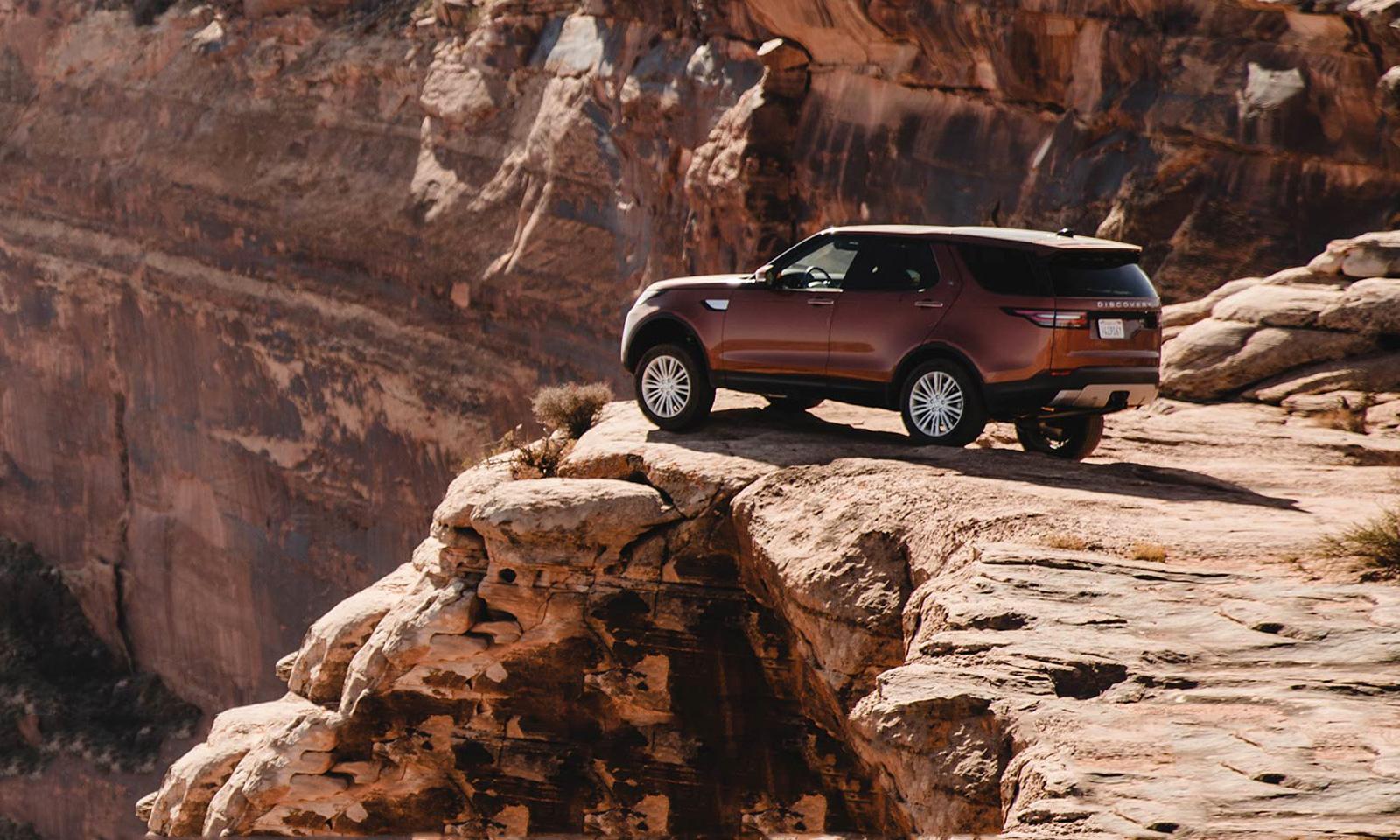 Land Rover Travel Adventure in Utah