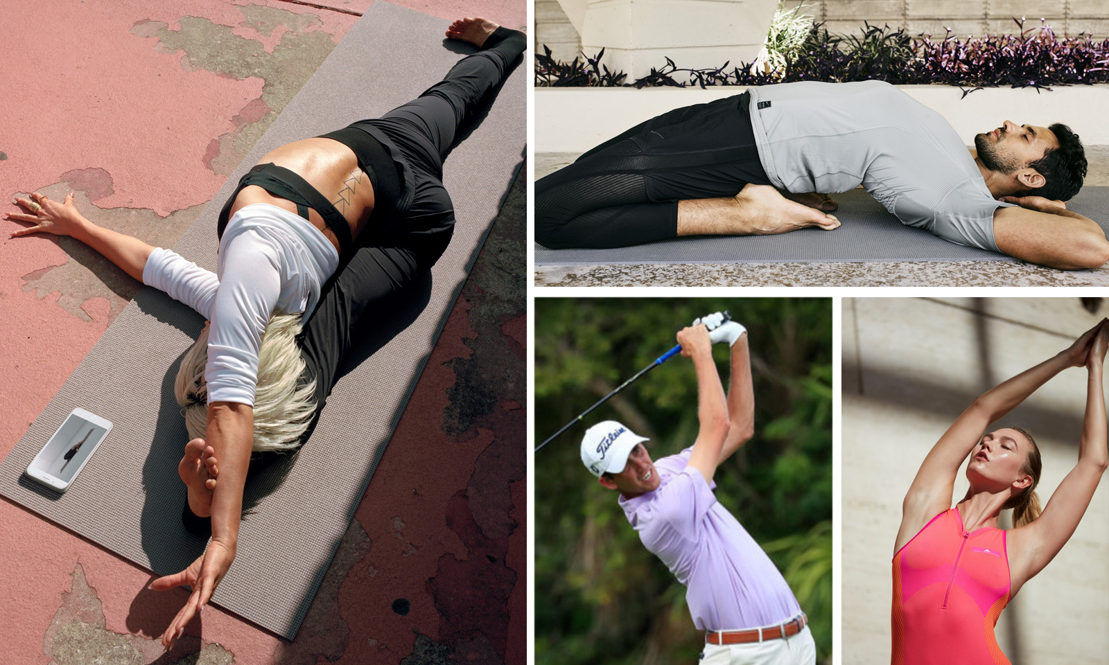 Golf and Yoga