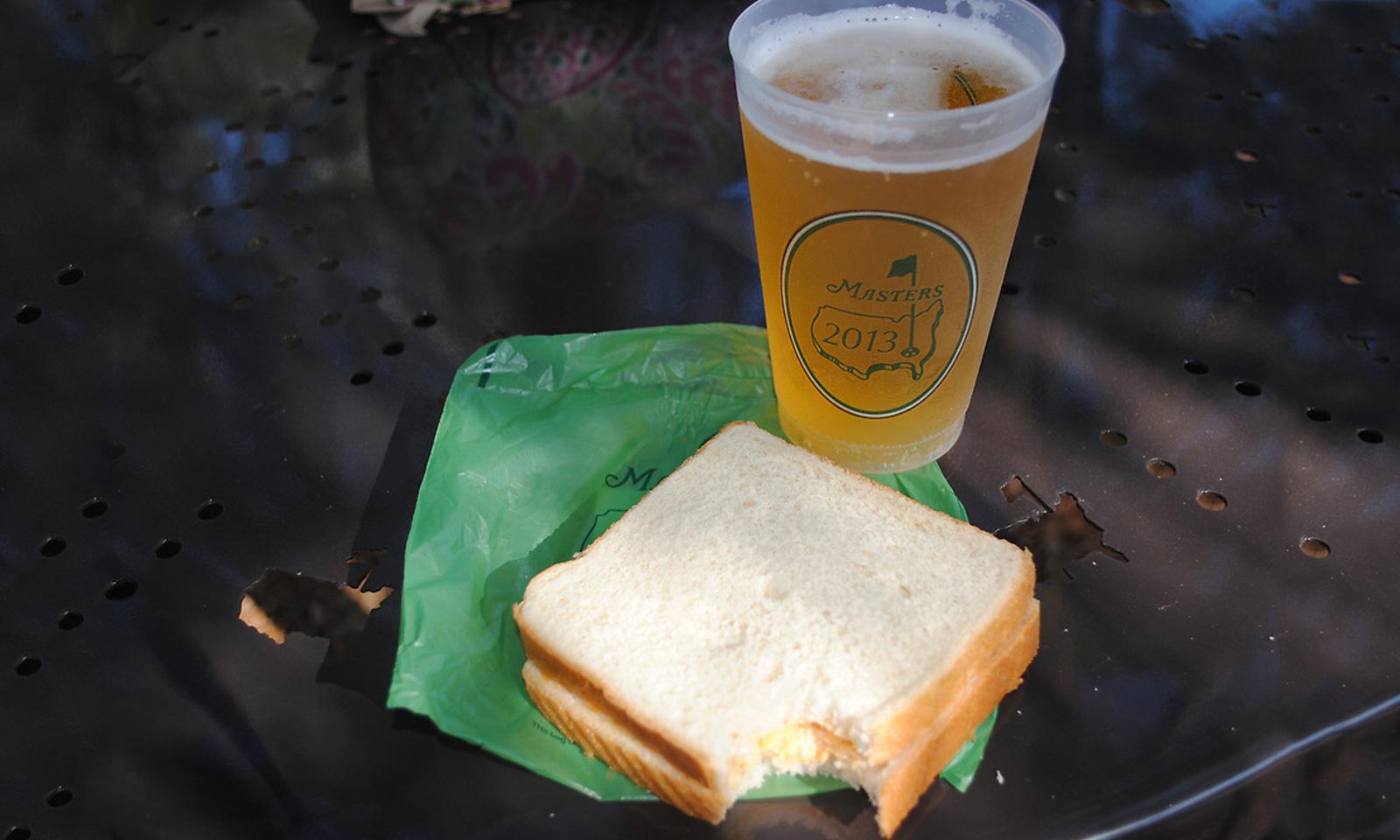 Masters Pimento Cheese Sandwich
