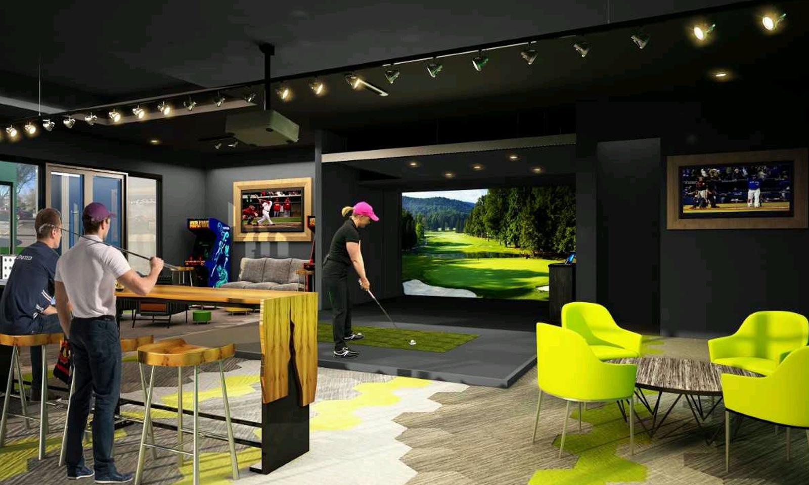 ClubCorp Golf Lounge