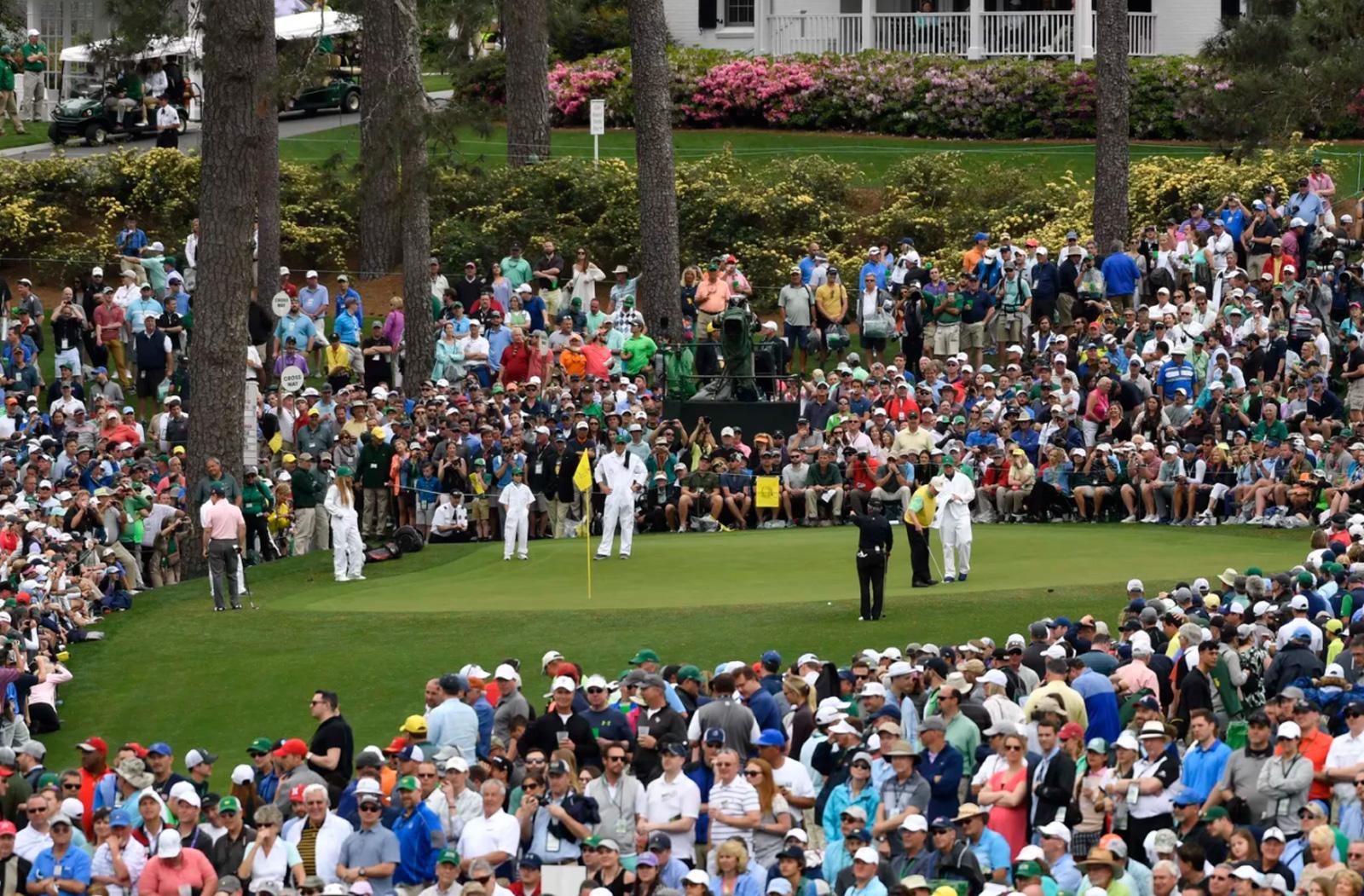 Augusta National Golf Club in Augusta