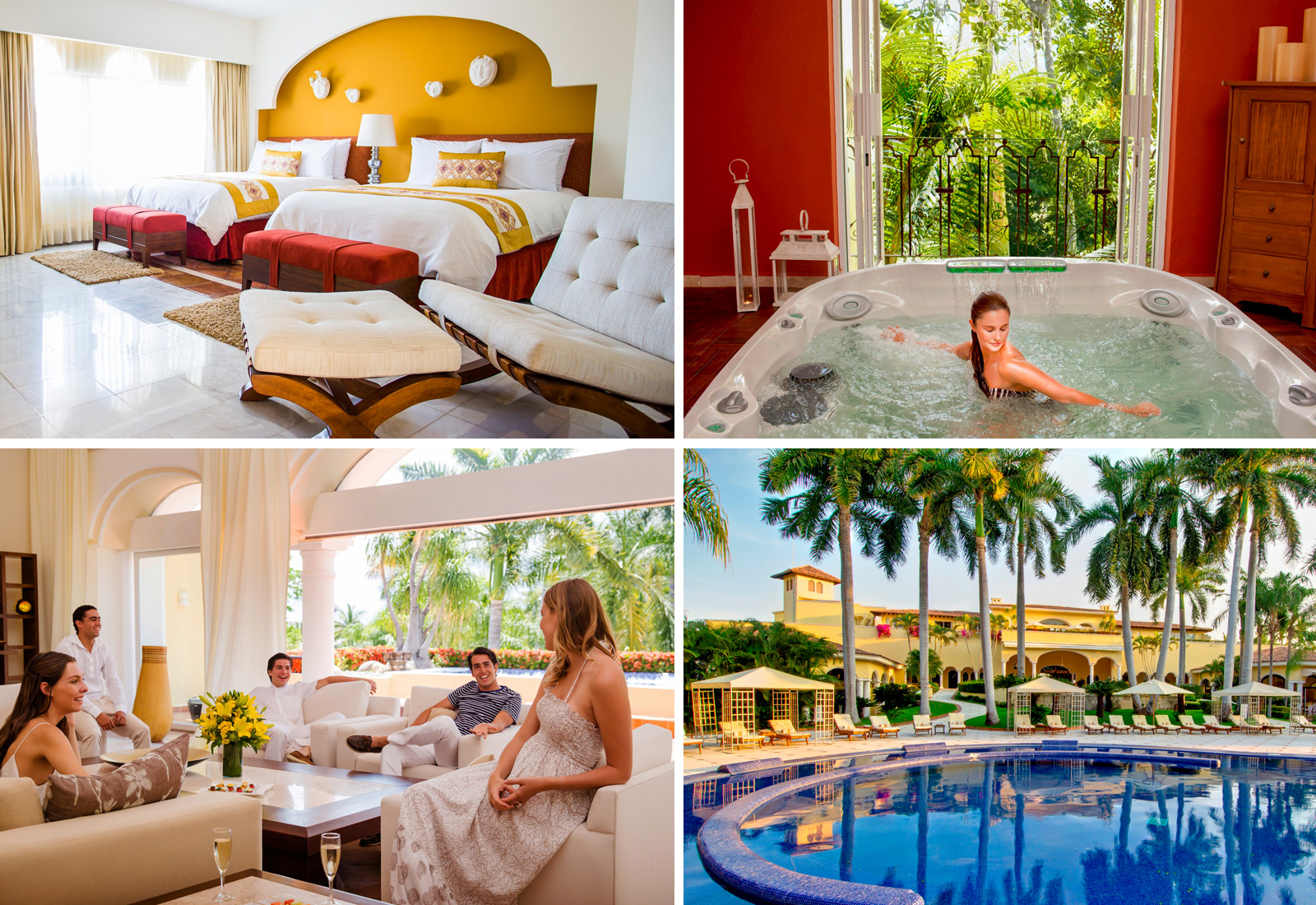 Adults-only Casa Velas Boutique Hotel