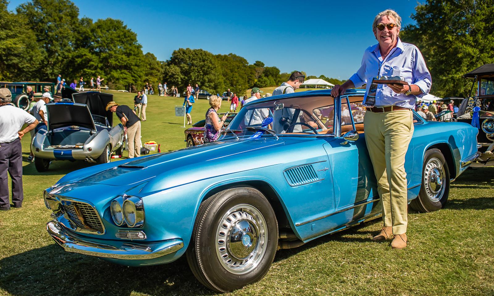 Atlanta-Weekend-of-Driving-d'Elegance-1961 Maserati Frua
