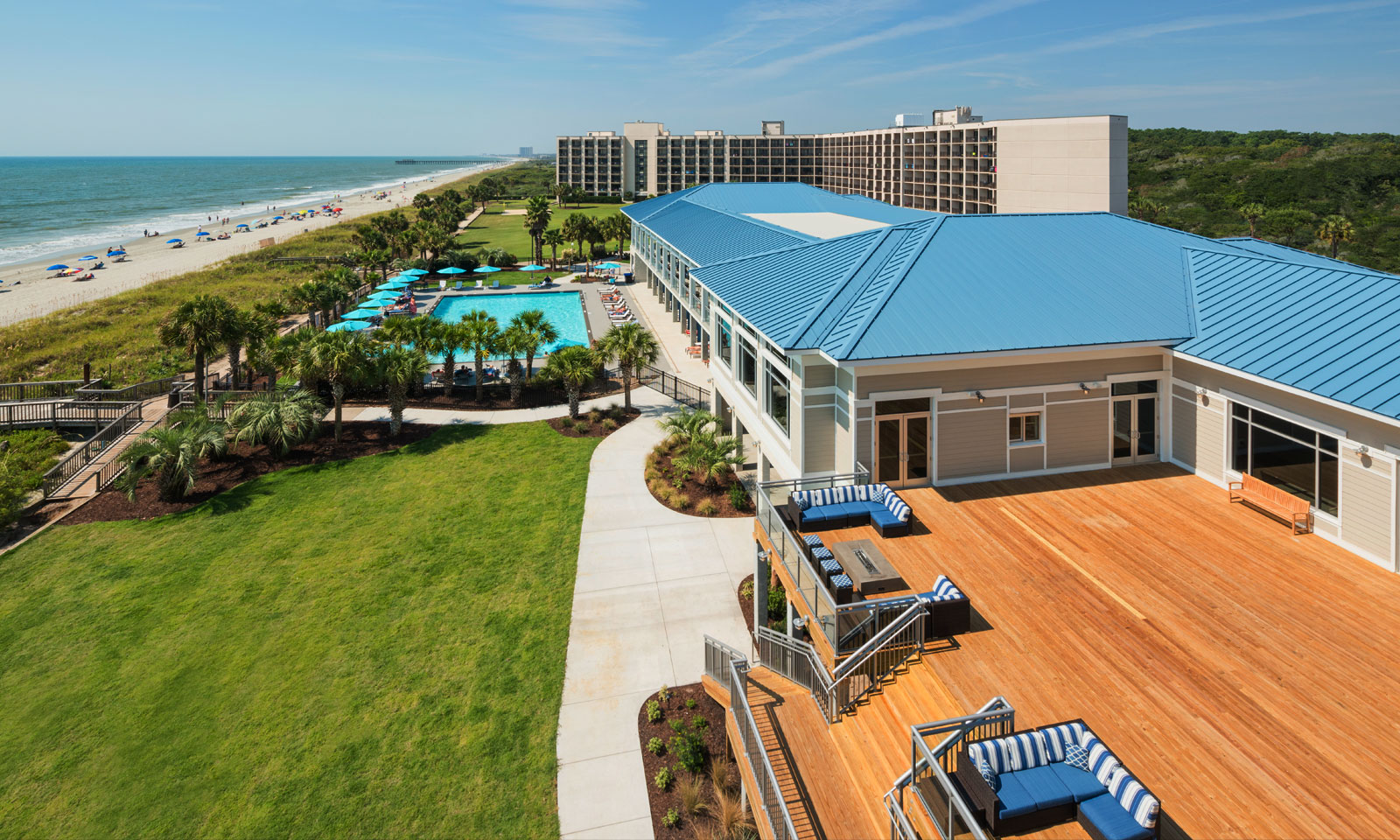 The DoubleTree Resort by Hilton, Myrtle Beach Oceanfront, Tee Up to Grand Strand Hotel for Holiday Fun