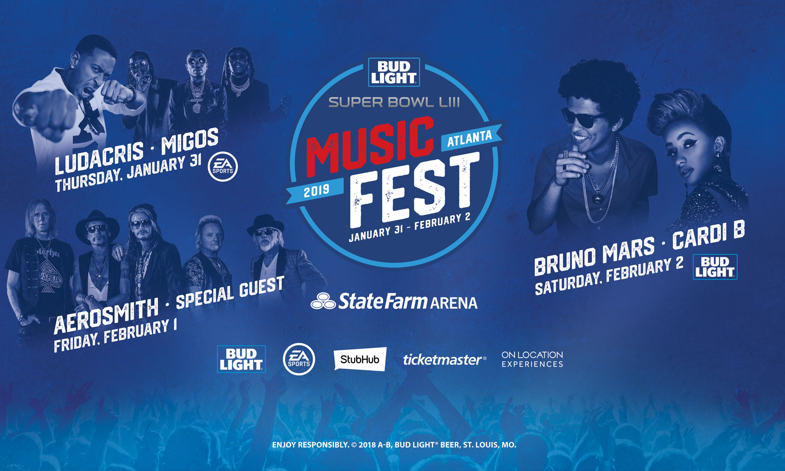 The Bud Light Super Bowl Music Fest