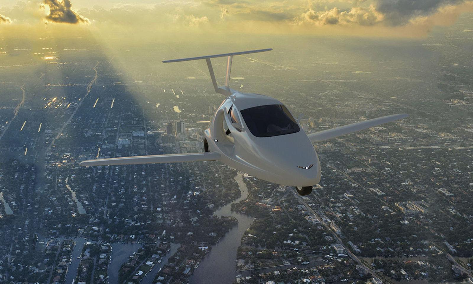 Samson Switchblade flying sports car