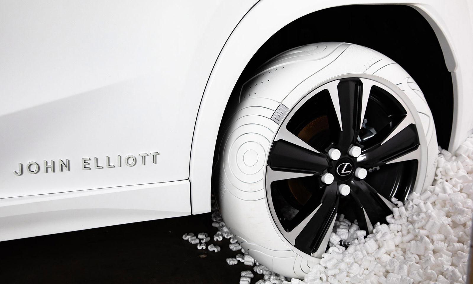 Lexus Partners with Streetwear Designer John Elliott