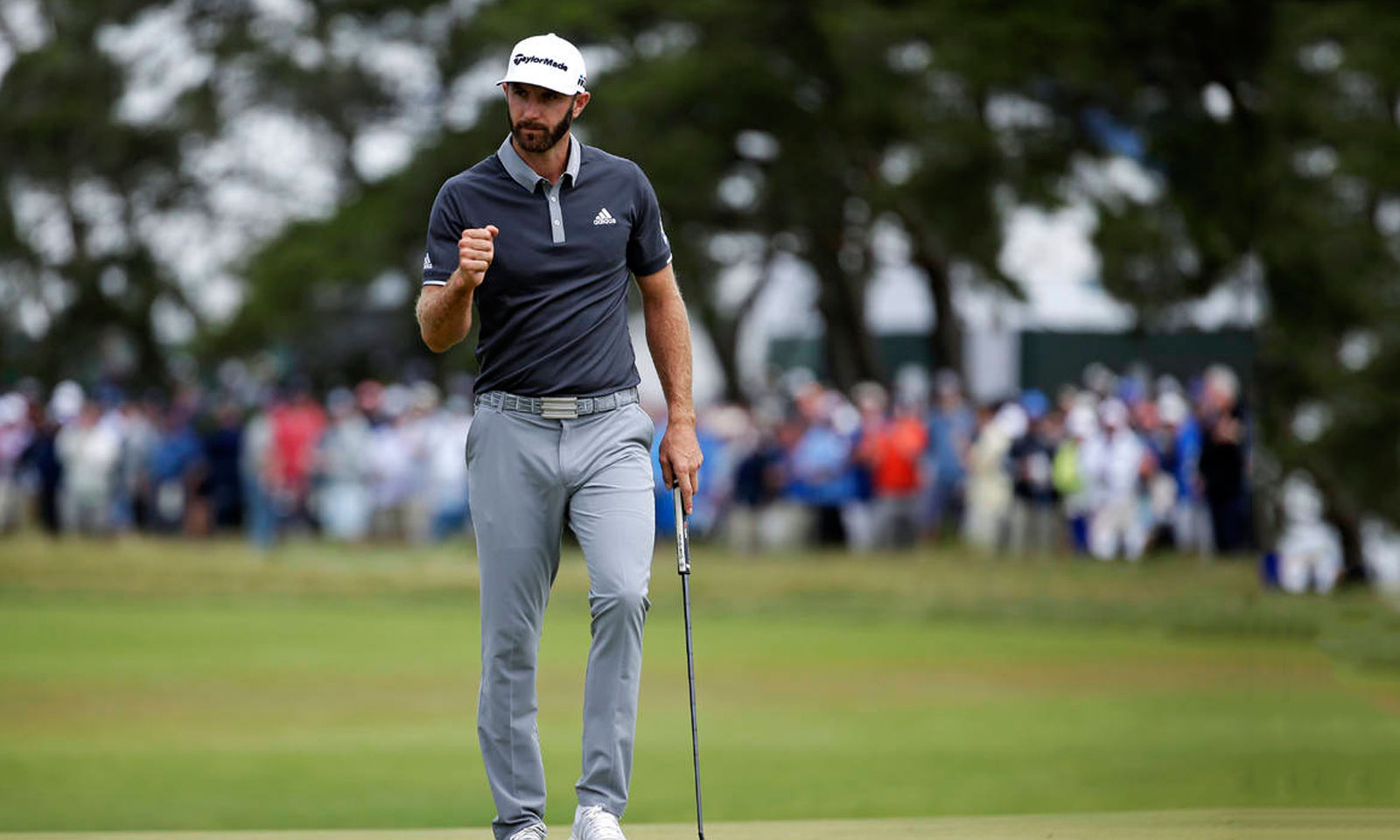 dustin johnson stylish people in golf