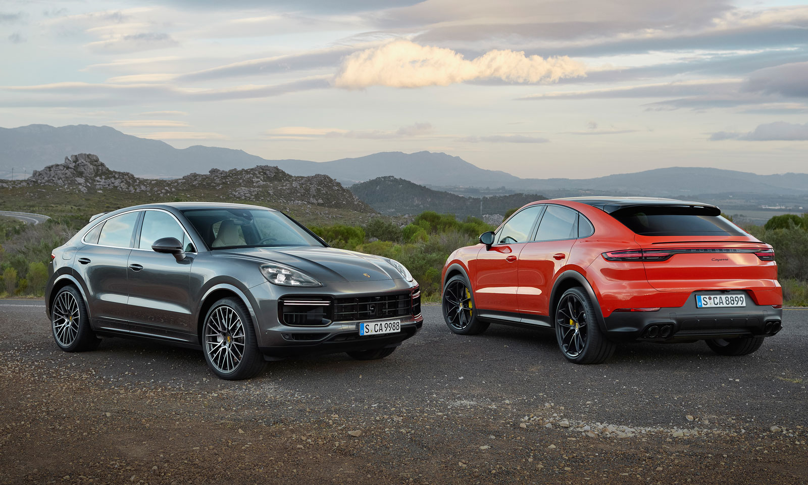 Porsche's New Cayenne Four-Door Coupe