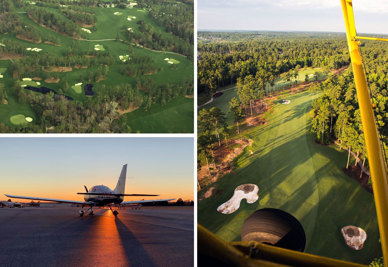 Aerial Tour of Augusta National Golf Course