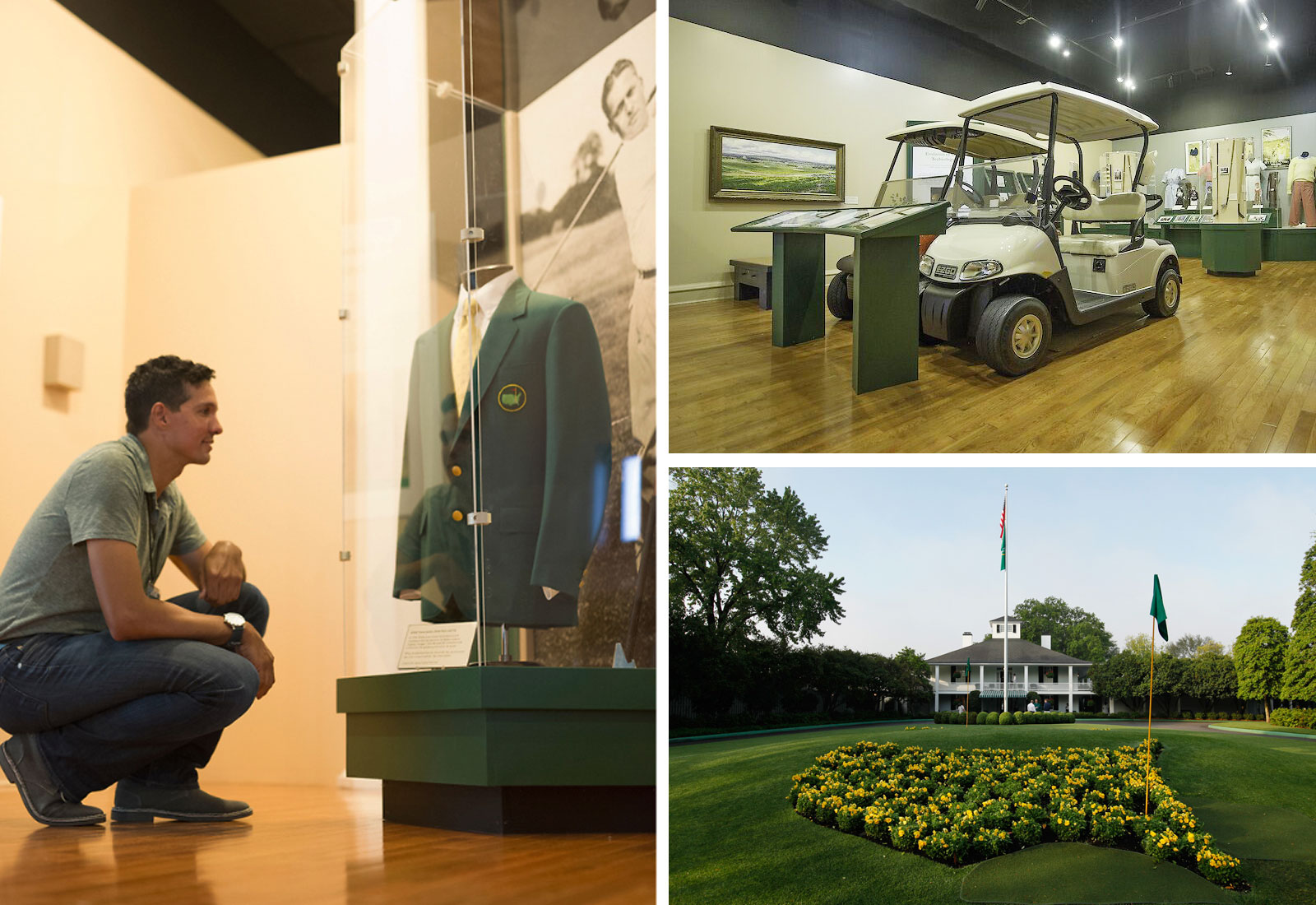 Golf exhibit at Augusta Museum of History