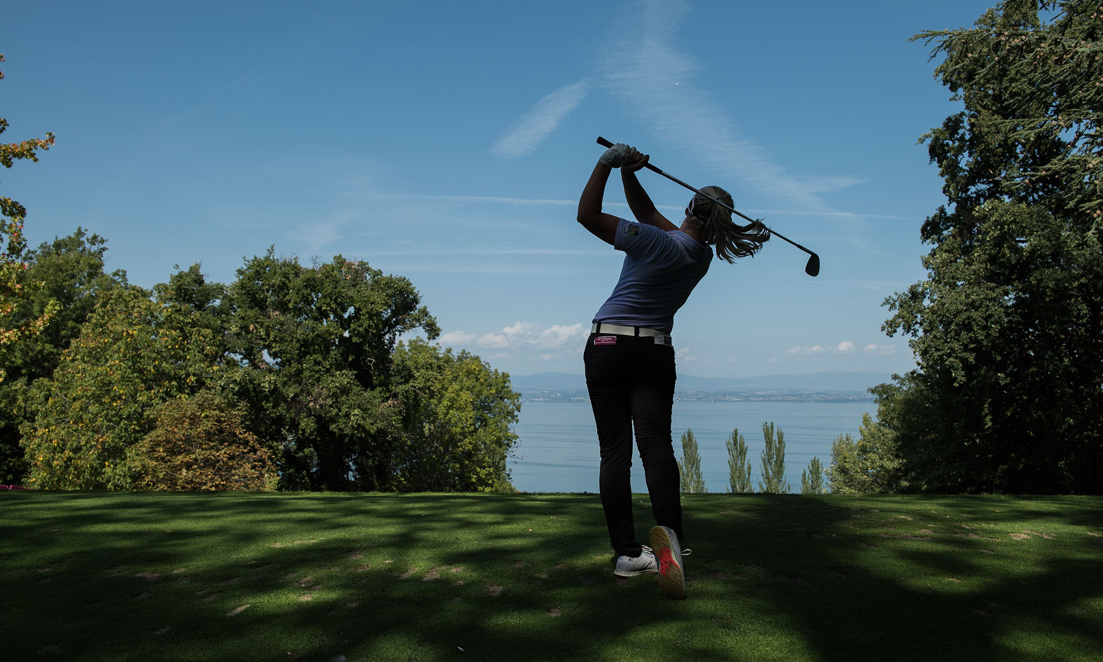 BrookeHenderson at Evian Championship in France