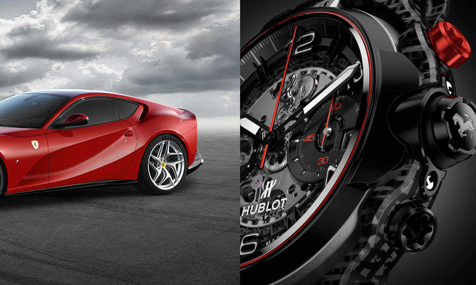 Hublot Ferrari GT watch