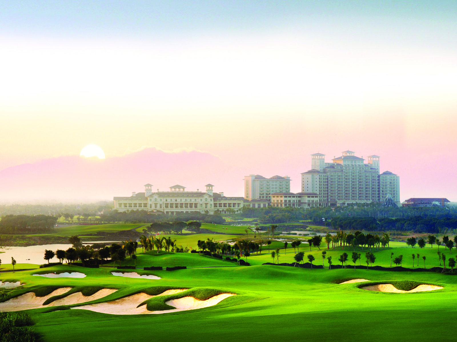 Mission Hills Golf in China