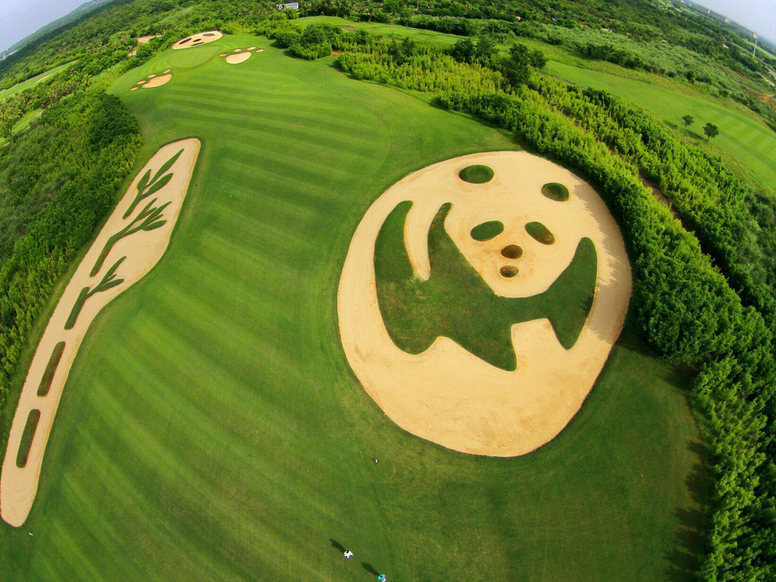 Mission Hills Course in China