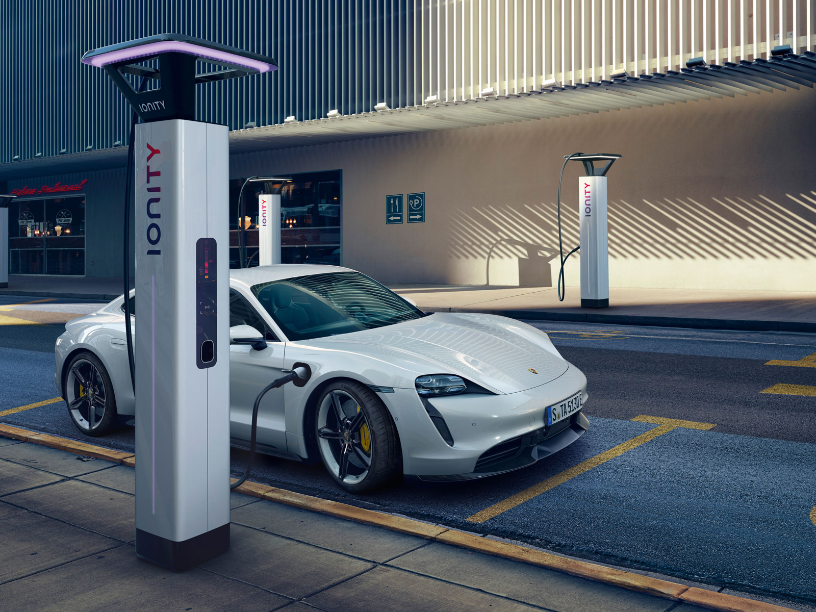 Porsche Taycan All-Electric Car