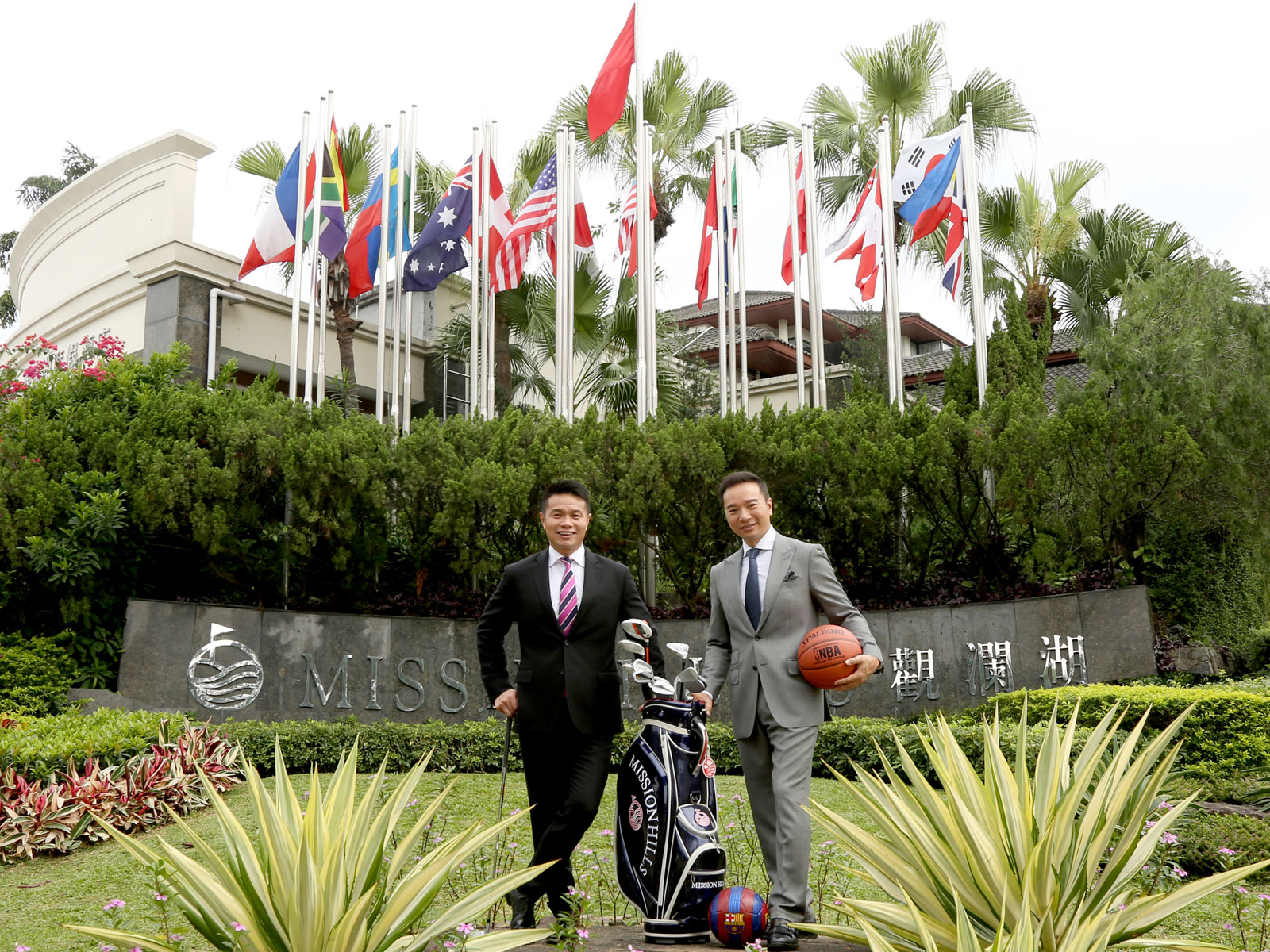 Ken and Tenniel Chu are the faces of golf in China
