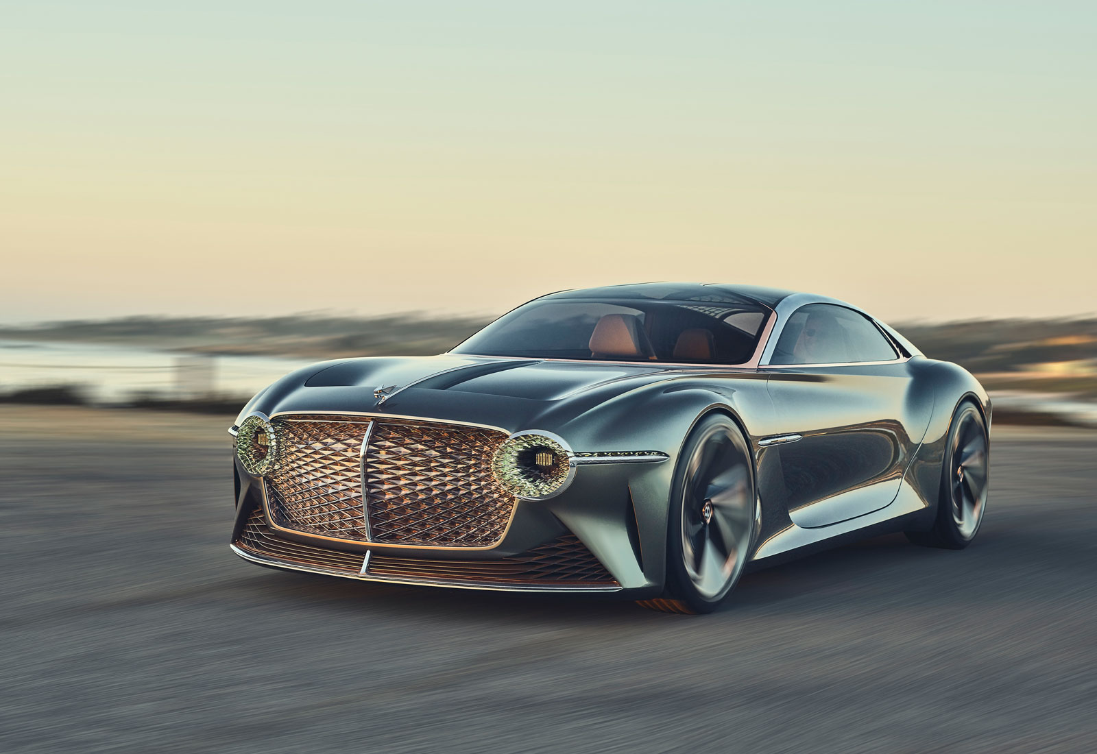 The electric Bentley EXP 100 GT