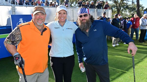 Diamond Resorts Tournament of Champions Larry the Cable Guy Brittany Lincicome Willie Robertson 1