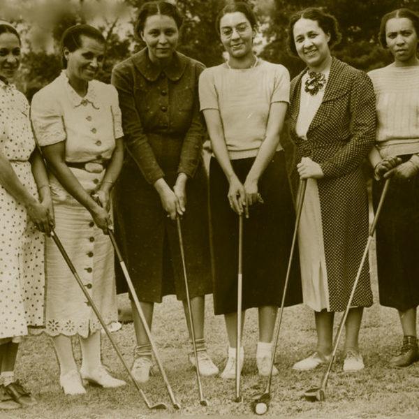 African American female golfers
