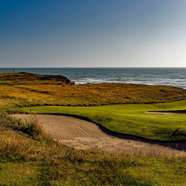 Some locations of the US Open will have dramatic ocean views