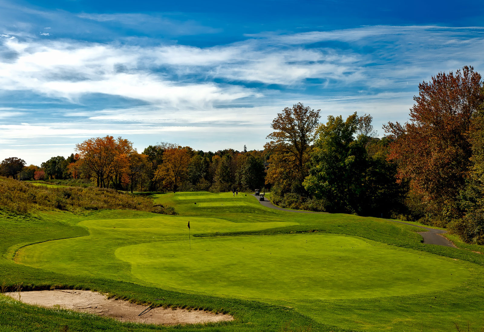 Locations of the US Open will have beautiful foliage