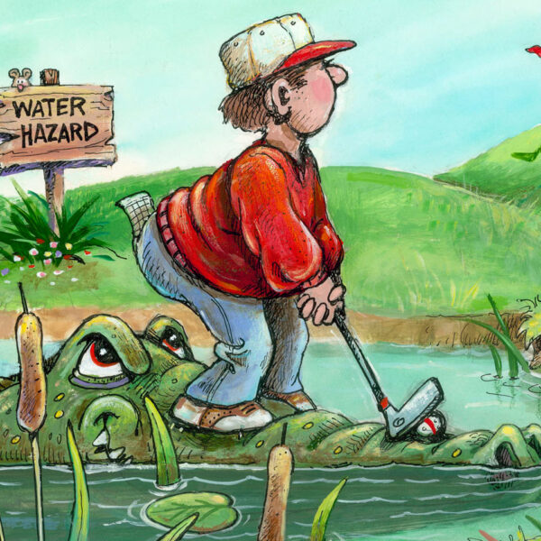 Golf Humor Cartoon