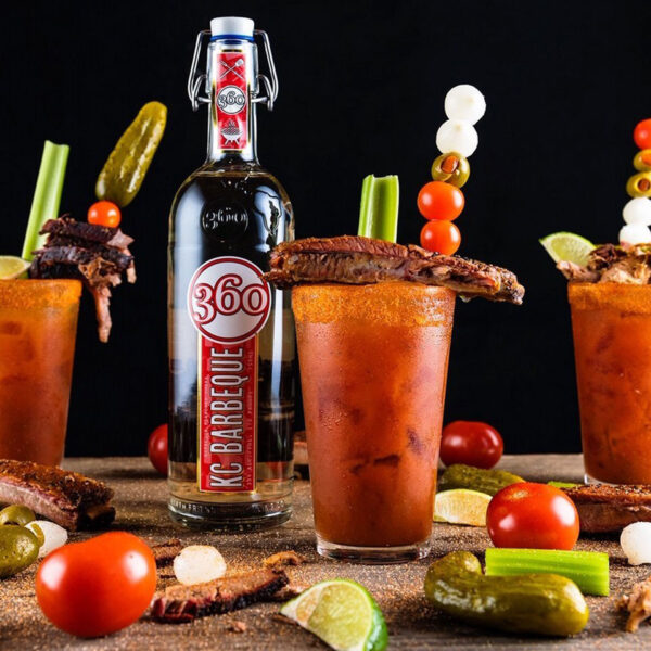 Barbeque Flavored Vodka Bloody Mary