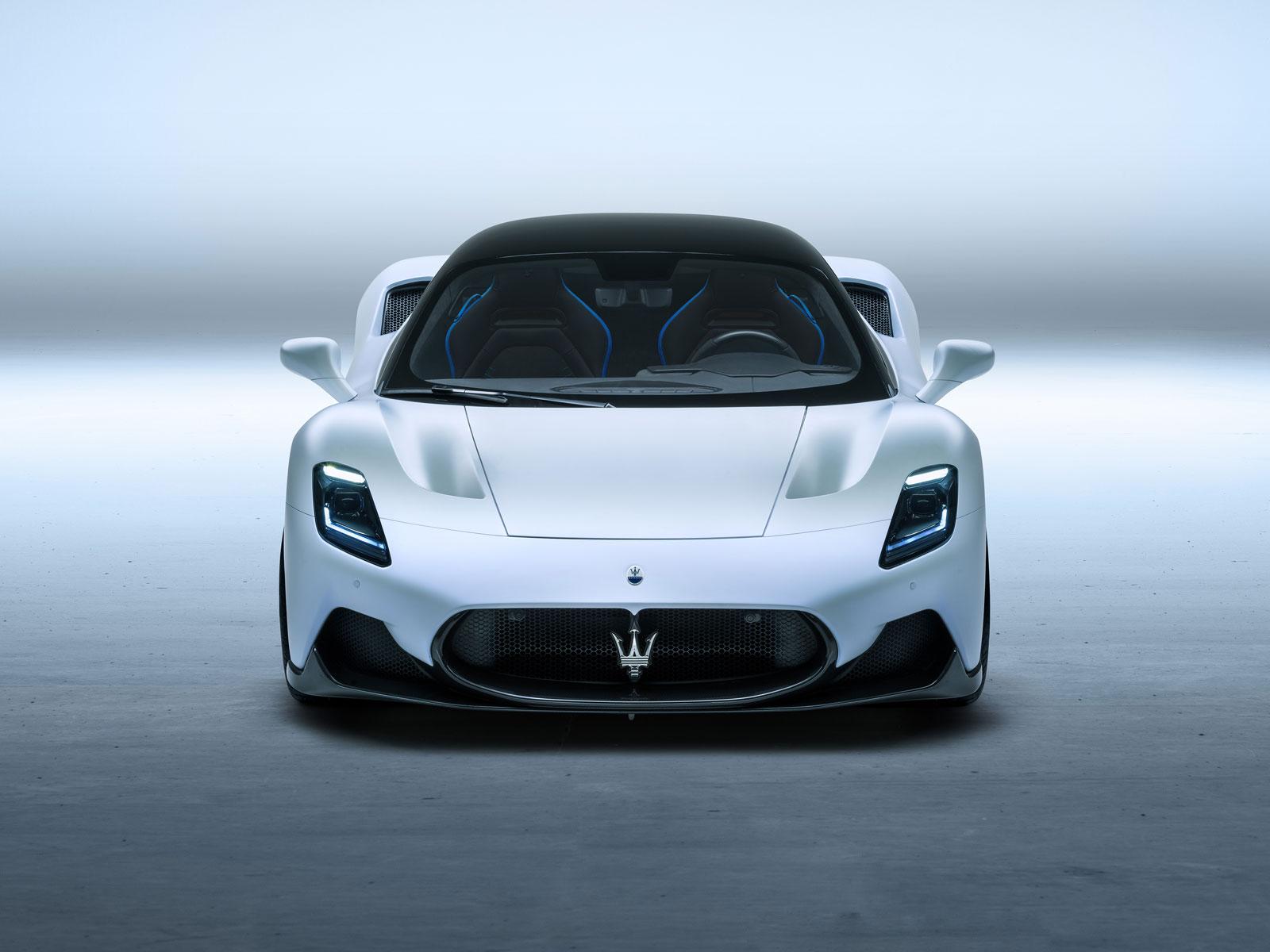 Maserati Trident front view