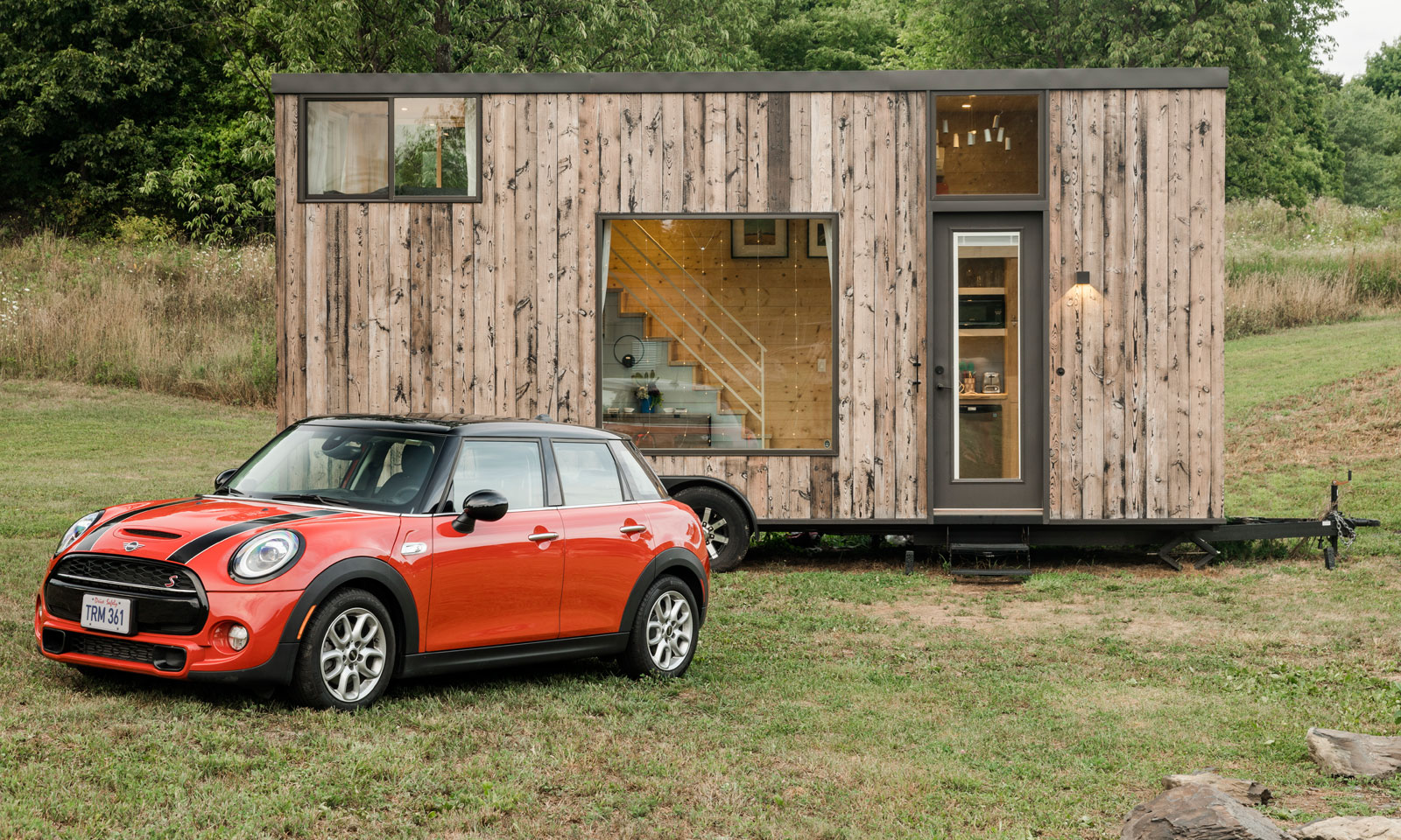 Mini cars and Airbnb fall weekend escape