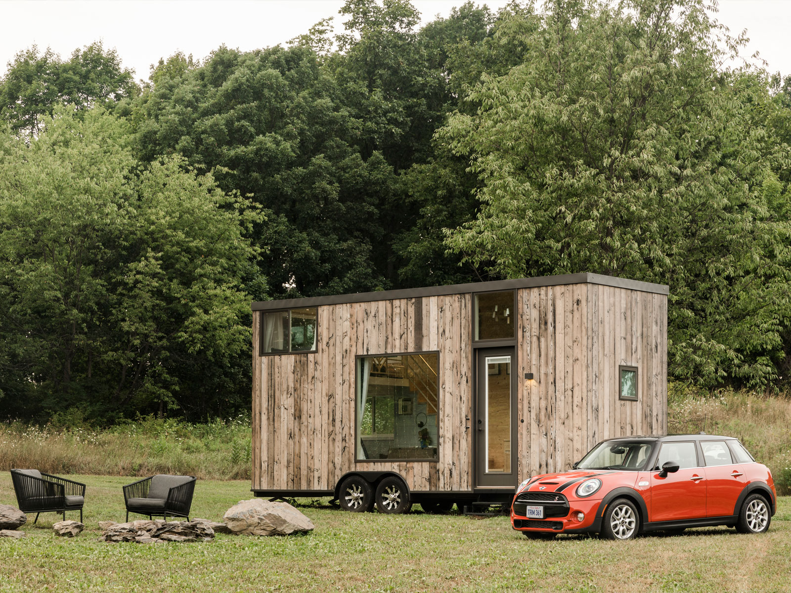 Mini cars and Airbnb offer weekend escape